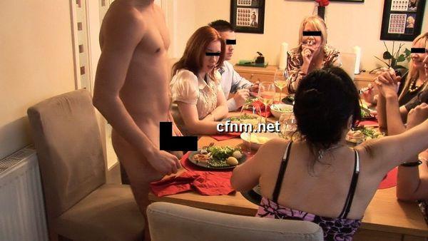 CFNM Stripper Nacktbutler für Frauen
