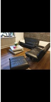 Couch Sofa aus Leder Ledercouch