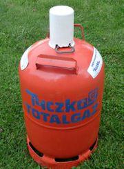 Voll Propangasflasche 11kg rot Gasflasche