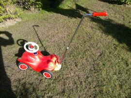 Kinderfahrzeuge - Bobby Car in Rot