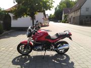 BMW R1200R Motorrad mit Original