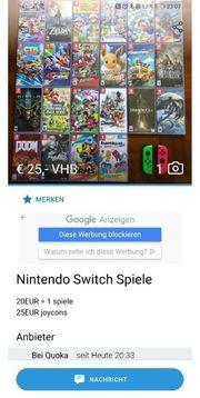 ACHTUNG BETRÜGER Switch Wii Playstation