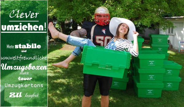 Bei uns umweltfreundliche Umzugsboxen mieten
