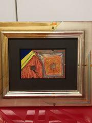Kunstdruck von Hundertwasser -