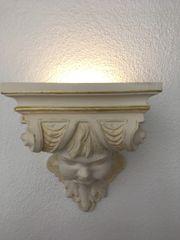 wandlampe aus Gips zu verkaufen