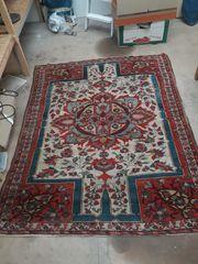 Antiker Handgeknüpft Orient Teppich Vintage