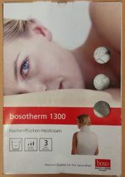 NEU bosotherm 1300 Nacken-Rücken-Heizkissen - Wärmekissen