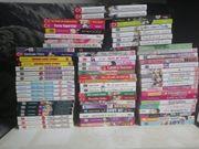 Zahlreiche Manga Bücher und DVDs