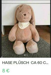 Hase Plüsch ca 60 cm
