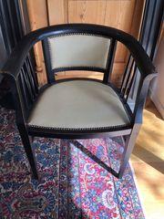 1 oder 2 Sessel schwarz