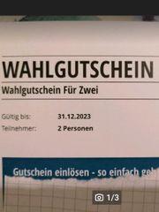 Wahlgutschein für 2 150