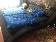 Designer Bett mit Matratze und
