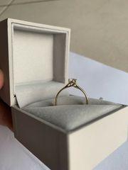 585 Gold Ring Verlobungsring Brilliant
