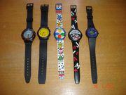 Armbanduhren aus Kunststoff Neuwertig
