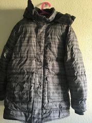 Jungen Winterjacke Gr 158 64