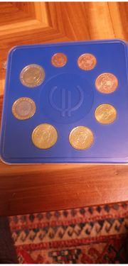 Eurokursmünzensatz Monaco 2001