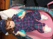 Porzellan-Puppe Niki - Handarbeit