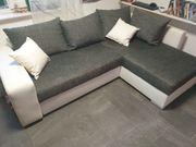 moderne Couch mit Schlaffunktion Lieferung