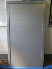 Neue Garten Tür aus Aluminium