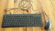 PC Tastatur mit Maus