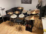 Schlagzeug gebraucht zu verkaufen