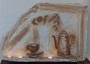 Gipsplastik Bild Cafe