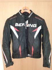 Bering Leder-Motorradjacke