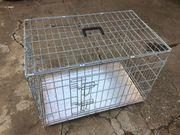Hundetransportbox Tierbox Box aus Edelstahl -