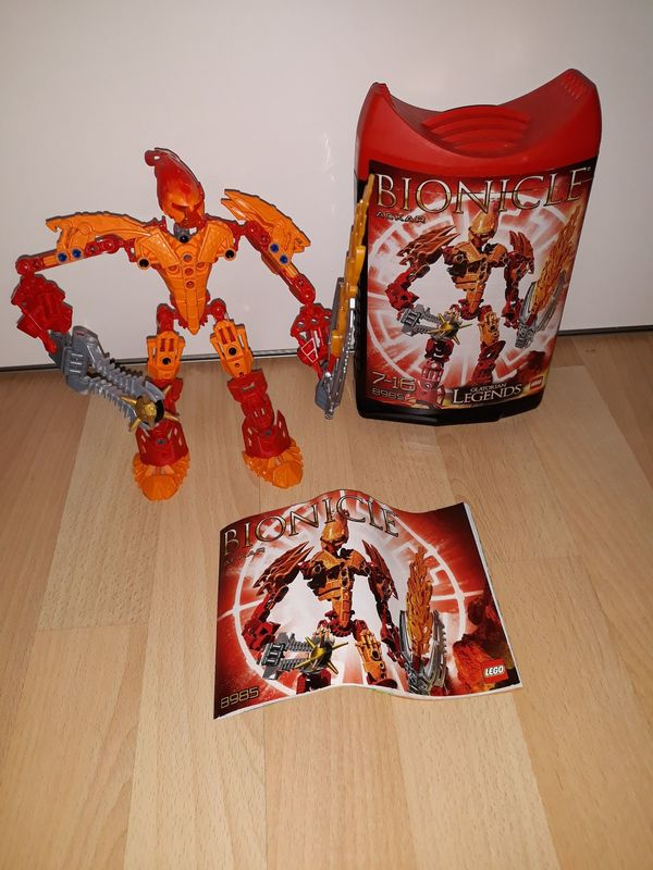 Lego Bionicle Ackar 8985