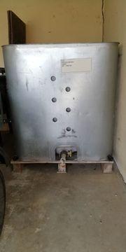 1000Liter Container als Regenwassertank mit