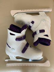 Eislaufschuhe Schlittschuhe Größe 39 Kufenschoner