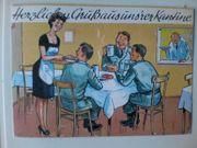 Ansichtskarte - Postkarte - Bundeswehr - Herzlichen Gruß