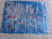 Tuch Batik bunt scheint Polyester