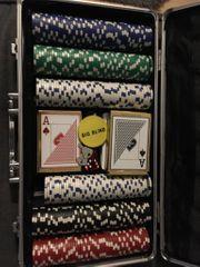 Poker Spiel Koffer