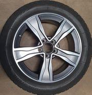 Winterkompletträder Mercedes Benz 5-Speichen-Rad 17