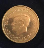 Gedenkmünze John F Kennedy