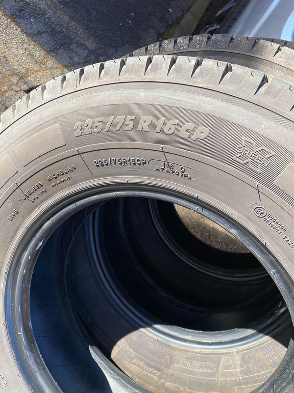 Wohnmobil Reifen Michelin 225 75