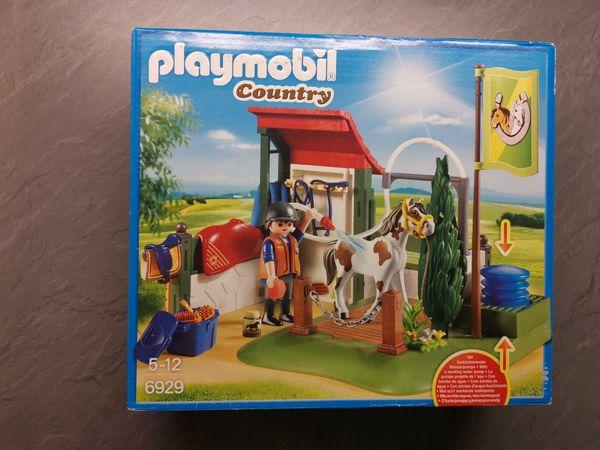 PLAYMOBIL COUNTRY 6929 PFERDEWASCHPLATZ NEU