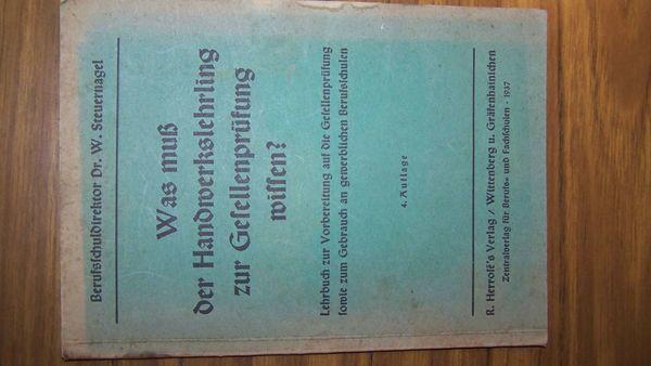 Schreinerbuch