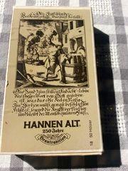 Antike Streichholzschachtel mit originalen unbenutzten