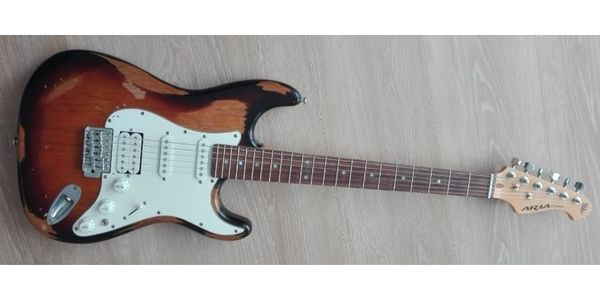 E-Gitarre Aria STG-Series 50th Anniversary
