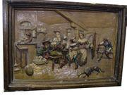 Ofenfließe antik - Schaustück