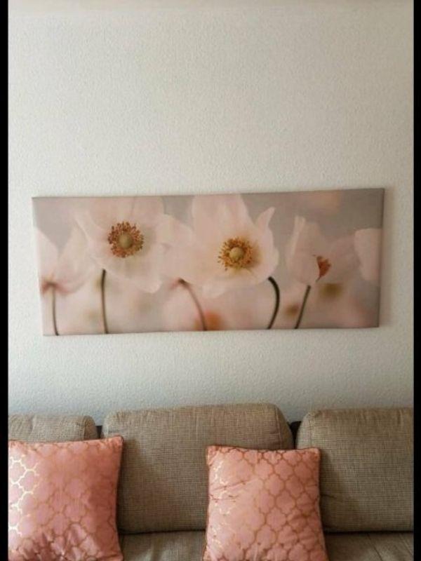 Bild mit Blumenoptik