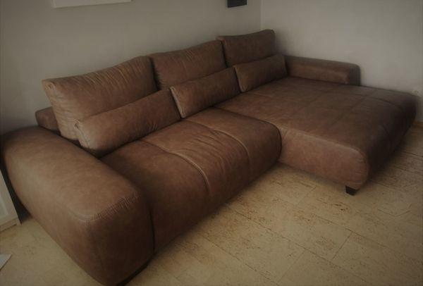 Sofa Boxspring Dauerschläfer NP 1