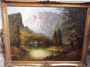 Gemälde Ölgemälde signiert von Brandl