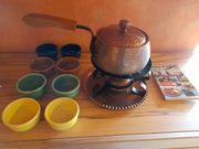 Fondueset Fondue Set aus Kupfer