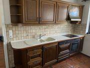 Echtholzküche von Leicht mit Elektrogeräten