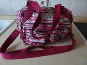 Kipling Tasche weiß pink