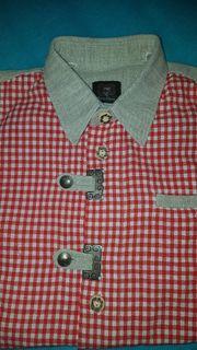 schönes Trachtenhemd Gr 134 140