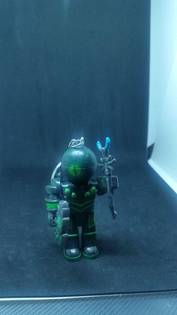 Schlüsselanhänger Roboter Grün